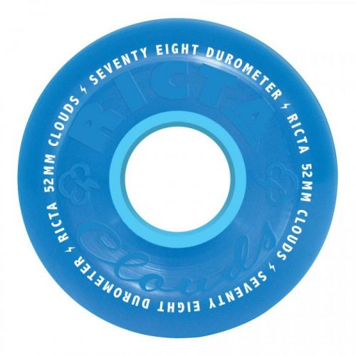 Ricta Crystal Clouds Wheels Blue 52mm 78A