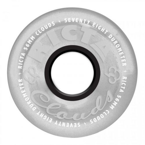 Ricta Crystal Clouds Wheels Clear 56mm 78A