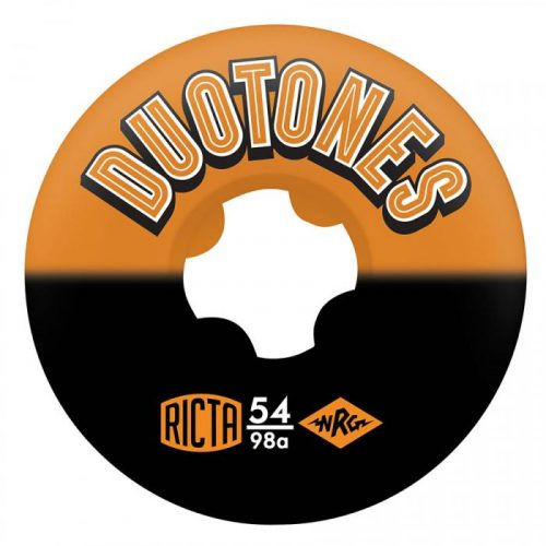 Ricta Duo Tones Orange Black Wheels 54mm 98A
