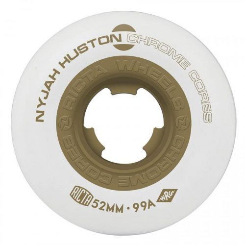 RICTA WHEELS NYJAH CHROME CORE 99A 52mm