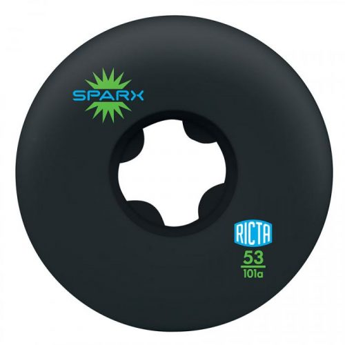 Ricta Sparx Wheels Black 53mm 101A