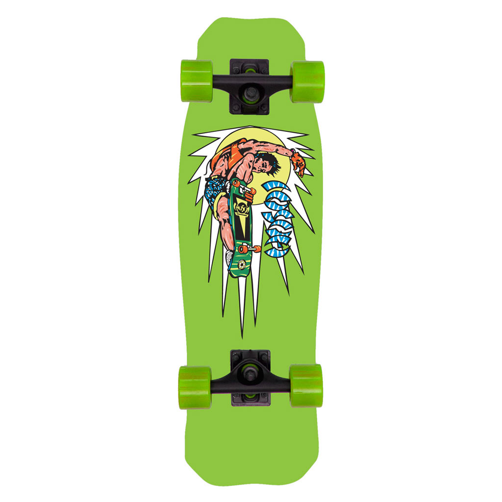"Hosoi Rocket Air Mini Cruiser Complete 8.5"" X 28"" - Green"