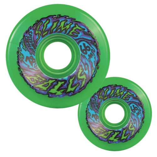 Santa Cruz Slime Balls Green 66mm 78A
