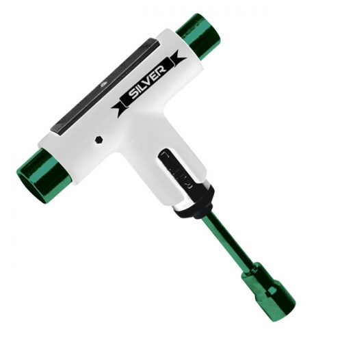 Buy Silver Skateboard Tool in Vancouver or Online Canada  SILVERTOOL-green-white
