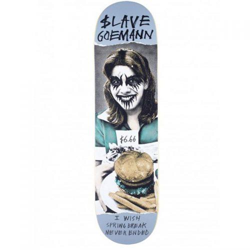 """Buy Slave Black Metal Goemann 8.25"""" Deck Canada Online Sales Vancouver Pickup"""