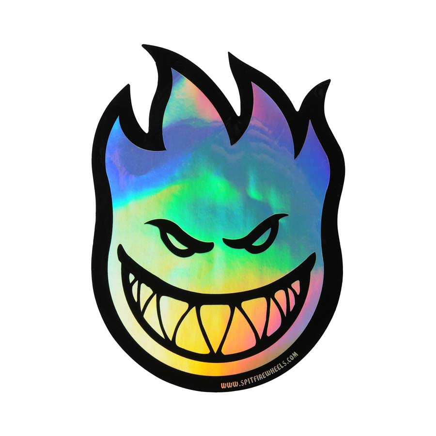 Spitfire Fireball Prism Sticker