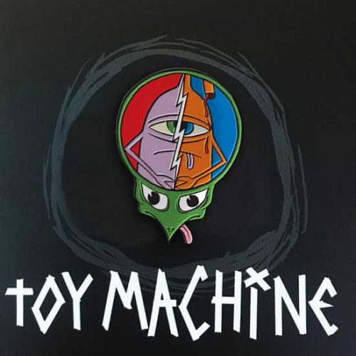 Toy Machine Pin Turtle Head