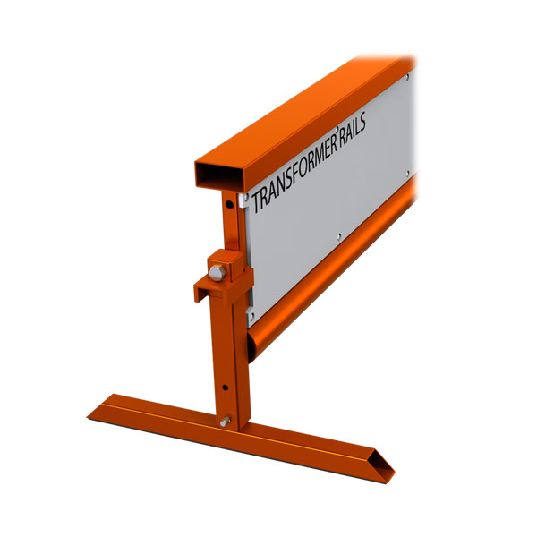 Orange Transformer Rail Flat Bar 8 Feet