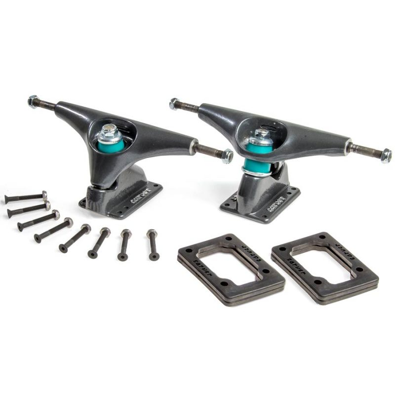 Carver CX Surfskate Truck Set Pewter Grey
