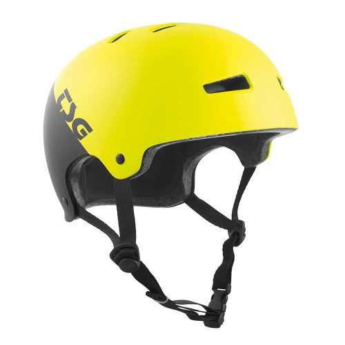 Buy TSG Evolution Youth Helmet Racing Acid Yellow Canada Online Sales Vancouver Pickup