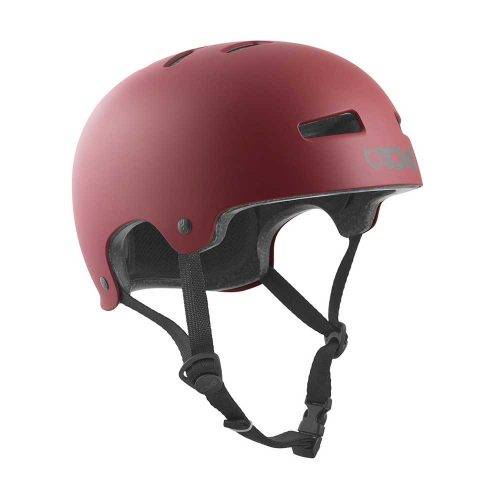 Buy TSG Evolution Youth Helmet Satin Oxblood Canada Online Sales Vancouver Pickup