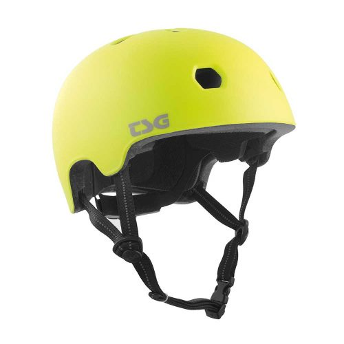 Buy TSG Meta Helmet Satin Acid Yellow Canada Online Sales Vancouver Pickup
