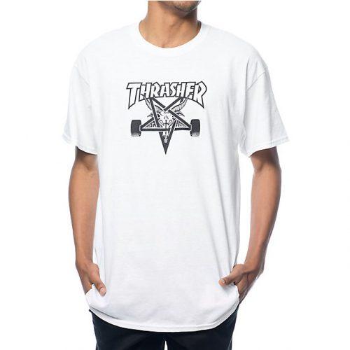 Thrasher Skate Goat T Shirt White