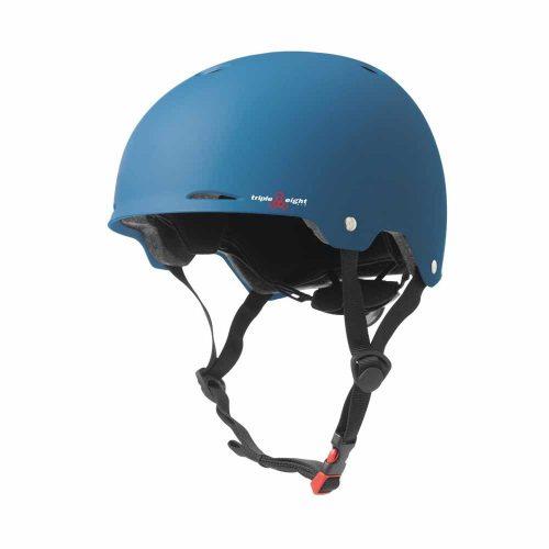 Triple 8 Gotham Helmet Blue Matte