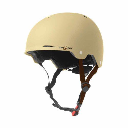Triple 8 Gotham Helmet Cream Matte