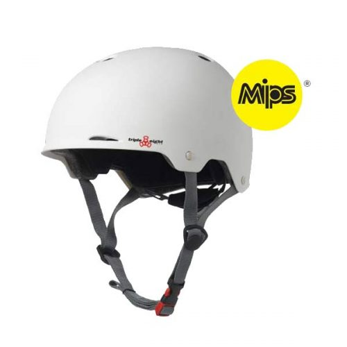 Buy Triple 8 Gotham Helmet with MIPS White Canada Online Sales Vancouver