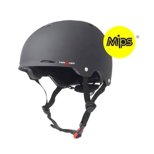 Buy Triple 8 Gotham Helmet with MIPS Black Canada Online Sales Vancouver
