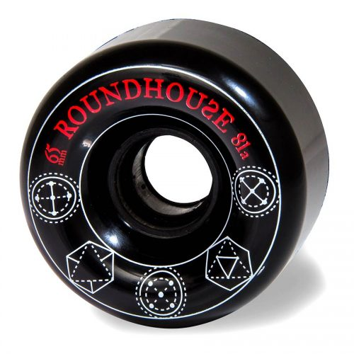 Carver Roundhouse 65mm 81a Radial Black