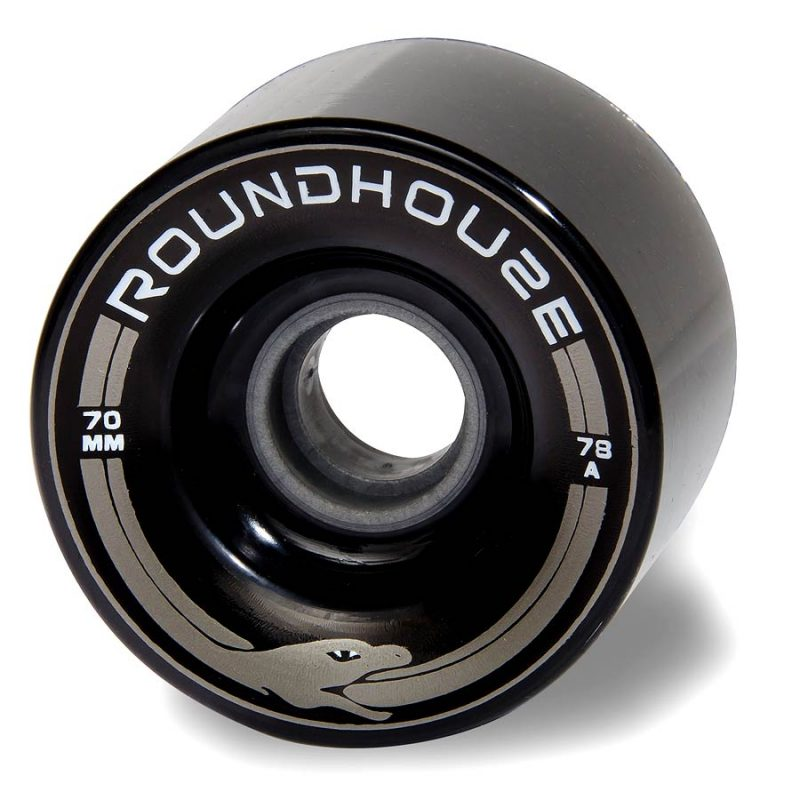Carver Roundhouse Wheels Black 70mm 78a