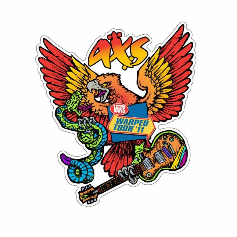 Warped-Tour-AXS-Die-Cut-Sticker