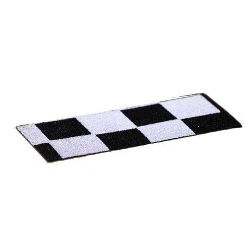 White-Checker--Black-Roswells-Griptape-Fingerboards-Fingerjam