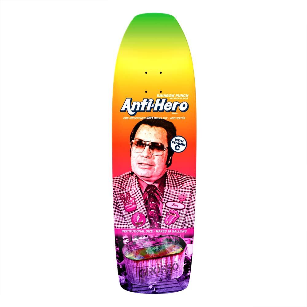 "Buy Antihero Grosso Pre Sweetened Rainbow Punch Deck 10.1"" x 33.5"" Canada Online Sales Vancouver Pickup"