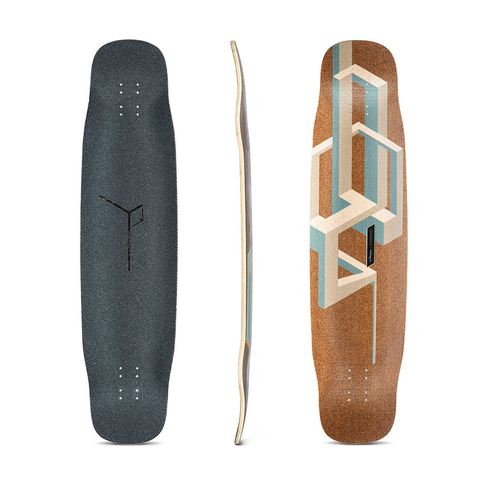 "Buy Loaded Basalt Tesseract Deck 9.5"" x 39"" Canada Online Sales Vancouver Pickup"