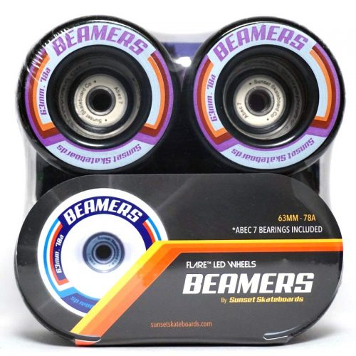 Sunset Beamers 63mm 78a Black