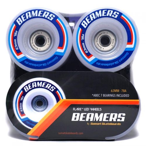 Sunset Beamers 63mm 78a White