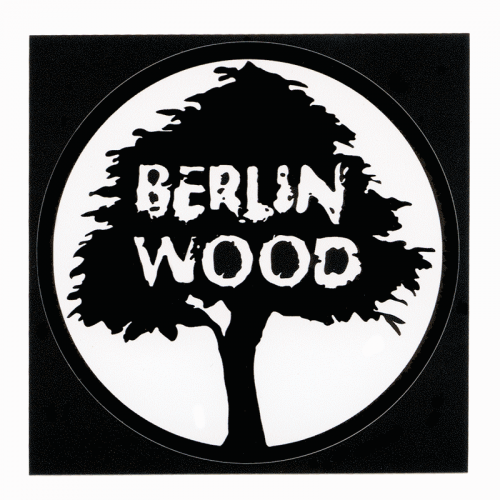 "Berlinwood Logo 4"" Sticker"