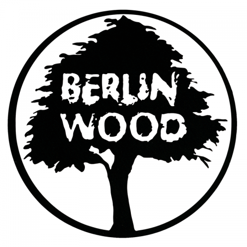 "Berlinwood Logo 5.5"" Sticker"