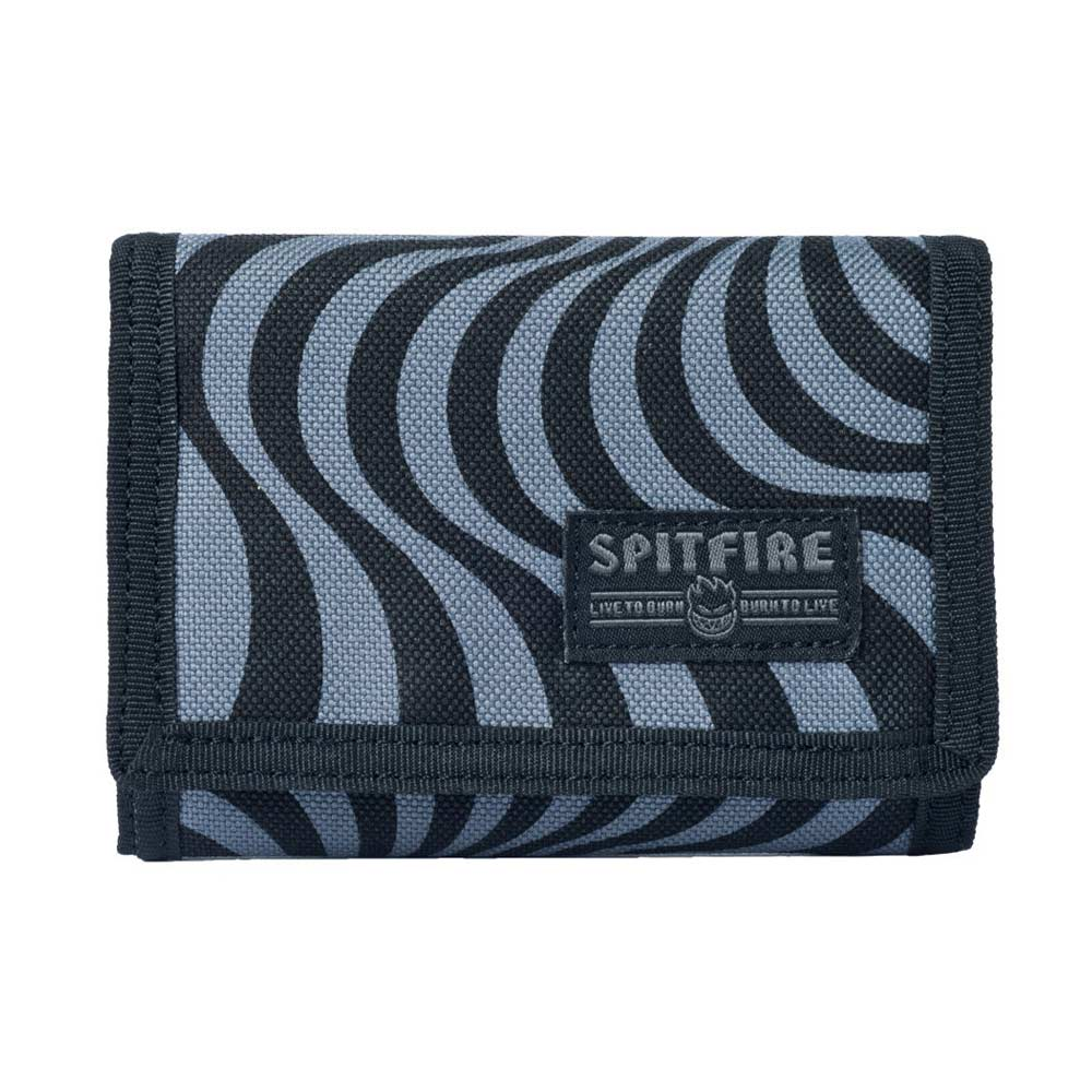 Buy Spitfire Bighead Swirl Trifold Wallet Black/Grey Canada Online Sales Vancouver Pickup