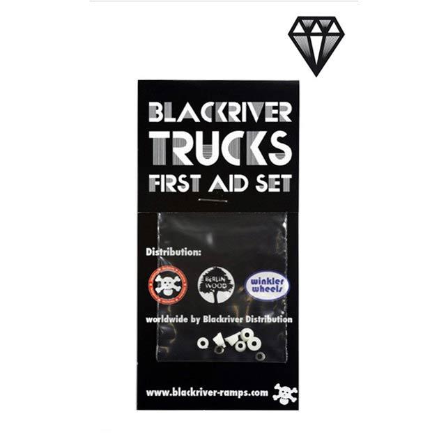 Blackriver Trucks First Aid Bushings classic white