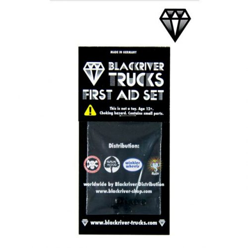 Blackriver Trucks First Aid Bushings Medium Black