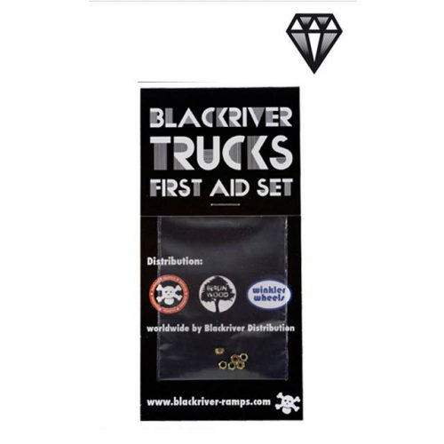 Blackriver Trucks First Aid Lock Nut System (6 Pack)