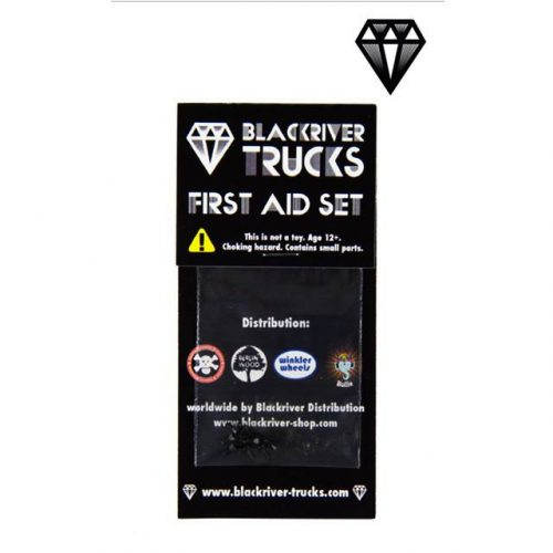 Blackriver Trucks First Aid Screws Black (8 Pack)