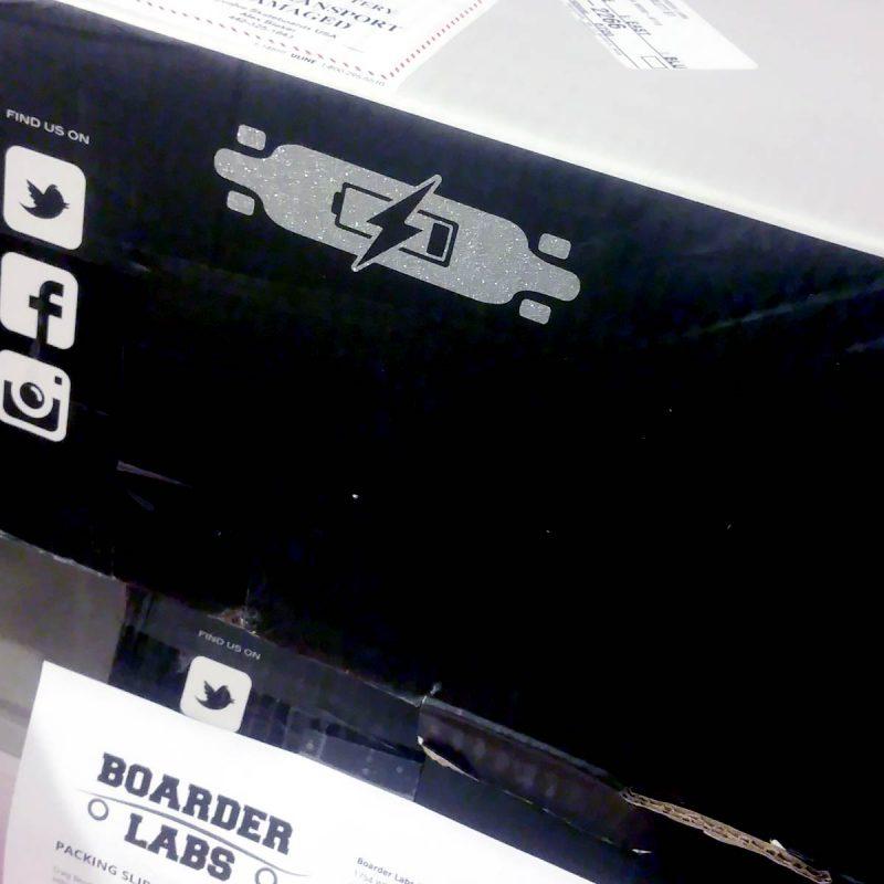 Boarder Labs Electric Longboard Sticker Vancouver Canada Online Skateshop