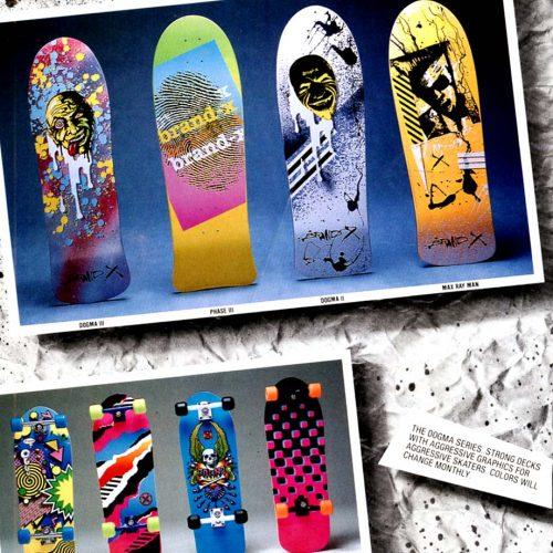 Brand X Skateboards Canada Online Sales Pickup Vancouver