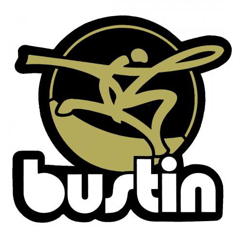 """Bustin Gold 3"""" x """"3.5 Sticker"""