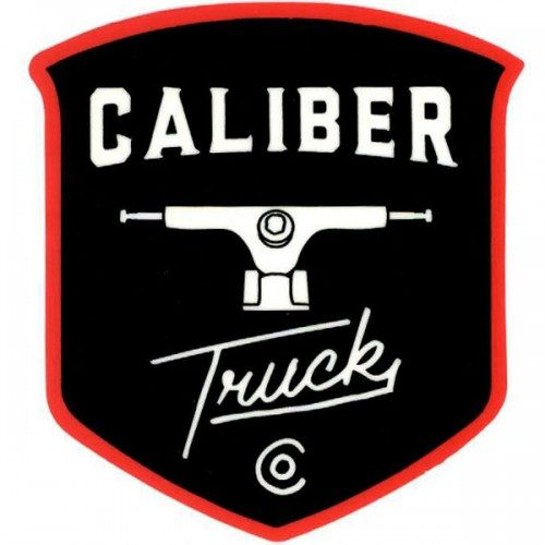 "Caliber Trucks 3"" x 4"" Sticker"