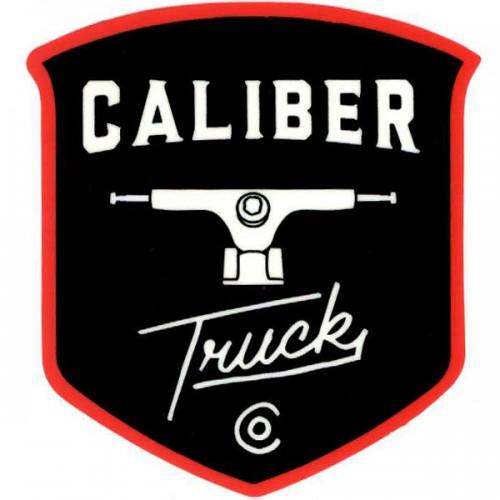 "Caliber Trucks 3"" x 4"" Sticker"