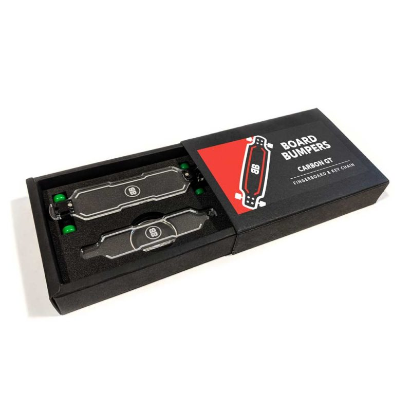 Buy Board Bumpers Carbon GT Fingerboard & Keychain Combo Canada Online Sales Vancouver Pickup