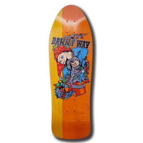 H-STREET - DANNY WAY REISSUE RABBIT IN THE HAT 9.8'' 30.25''
