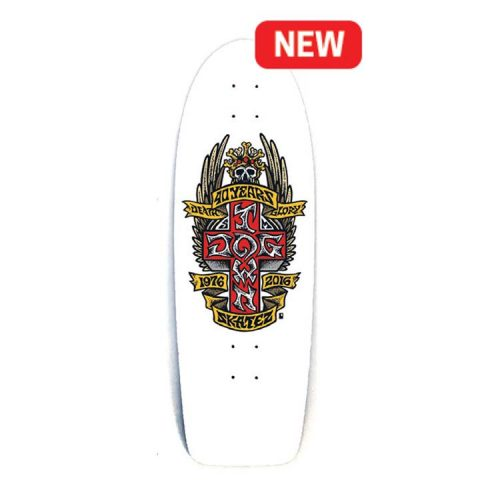 """Buy Dogtown 40 Year Anniversary 10"""" x 30.25"""" Cruiser Deck White Canada Online Vancouver Pickup"""