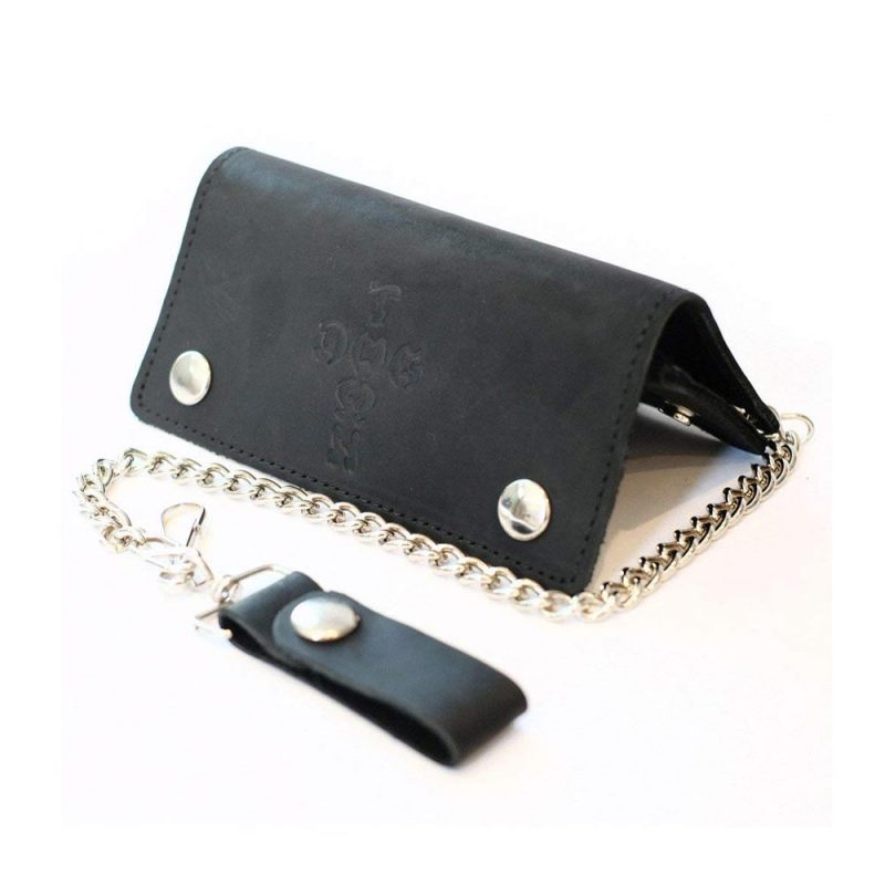 dogtown-leather-chain-wallet