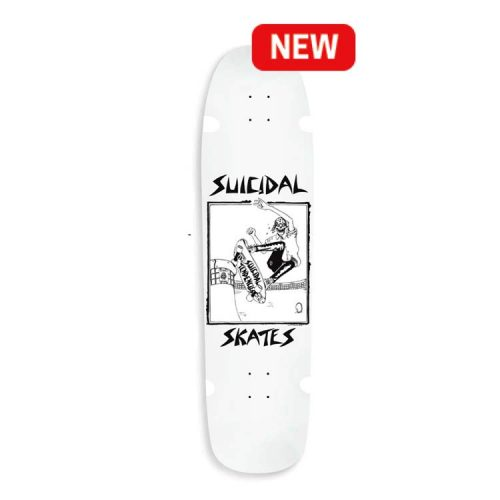 "Buy Suicidal Pool Skater 8.5"" x 32.5 Deck White Canada Online Vancouver Pickup"