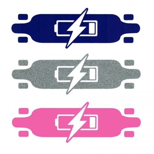 Boarder Labs E-Bolt Electric Skateshop Sticker