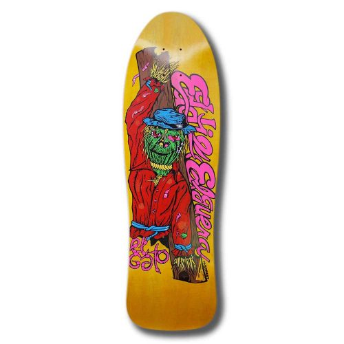 H STREET Re-issue Deck El Gato Scarecrow 9.5'' x 31.25''