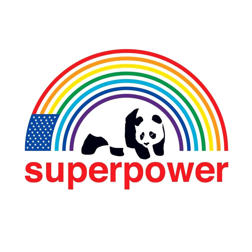 "Buy Enjoi Superpower Rainbow Sticker 4'"" x 3"" Canada Online Sales Vancouver Pickup"