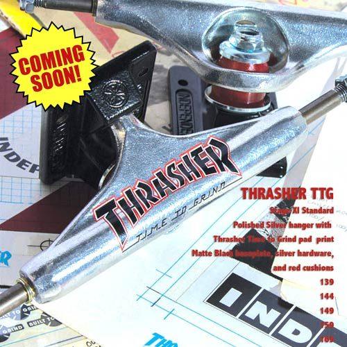 Buy Independent Trucks Stg 11 Thrasher TTG Edition Silver Black Canada Online Sales Vancouver Pickup